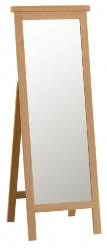 Cornish Oak Cheval Mirror